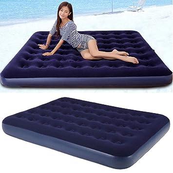 Amazon.com: Colchón hinchable de viaje para coche, cama de ...