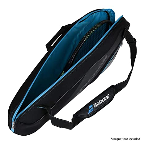 Amazon.com : Babolat Team x3 Racquet Bag, Black, One Size : Sports & Outdoors