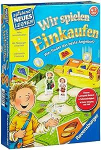 Ravensburger 25058 - Spielend Neues Lernen Wir spielen Einkaufen