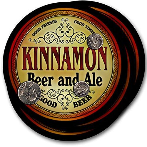 Kinnamonビール& Ale – 4パックドリンクコースター   B003QX4R34