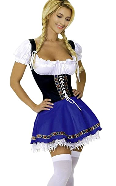 Sexy beer wench costume
