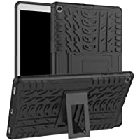 Longtis Funda Galaxy Tab A, Cuerpo Completo Resistente y Resistente Cubierta de Parachoques a Prueba de Golpes Compatible con Galaxy Tab A 10.1 2019 SM-T510 T515 Funda Protectora con Soporte