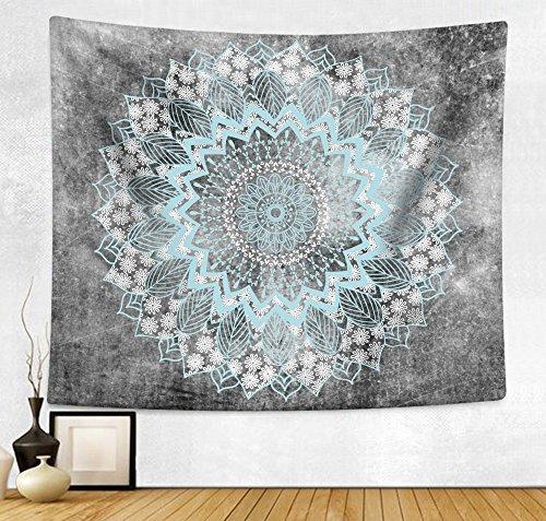 HAOCOO Mandala Bohemian Tapestry Wall Hanging Tapestries Ind