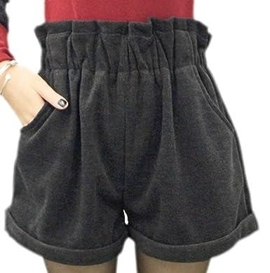 Shop für Beamte Brauch Super Qualität erdbeerloft - Damen Trendige Winter Shorts, 38, Grau: Amazon ...