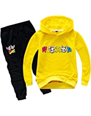 Felpa per Me Contro Te Bambina Tuta Sportiva Bambino Unisex Felpe con Cappuccio e Pantaloni Maglia Bambini e Ragazzi Style 6 Merchandising Film e TV