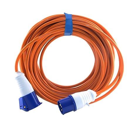 caravan hook up cable reel