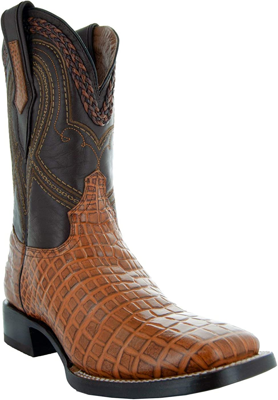 Soto Boots Men/'s Workhorse Square Toe Western Work Boots H4007
