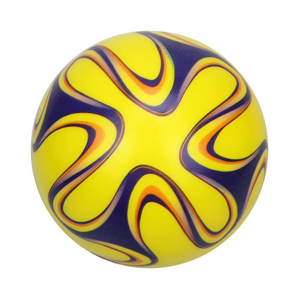 Owfeel 4 bolas de relleno de esponja suave fútbol balón de fútbol ...