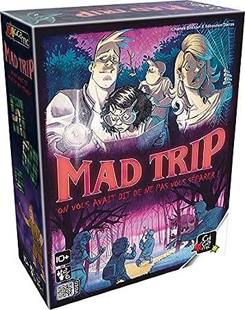 GIGAMIC – Mad Trip Juego de Ambiance, gfma: Amazon.es: Juguetes y juegos
