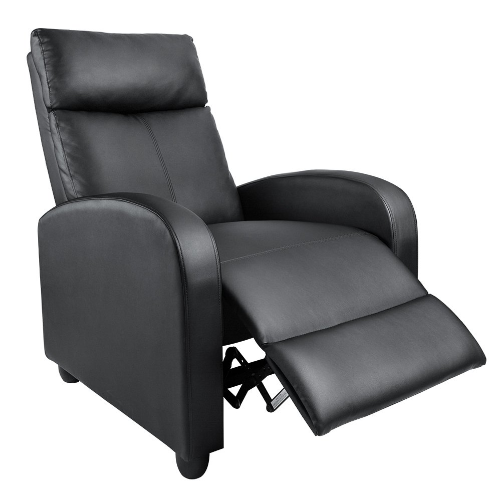 The Homall Single Recliner Chair Padded Seat