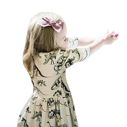 Niña Vestido, beikoard bebé niñas vestidos para 0 – 18 meses para bebé bebé niñas