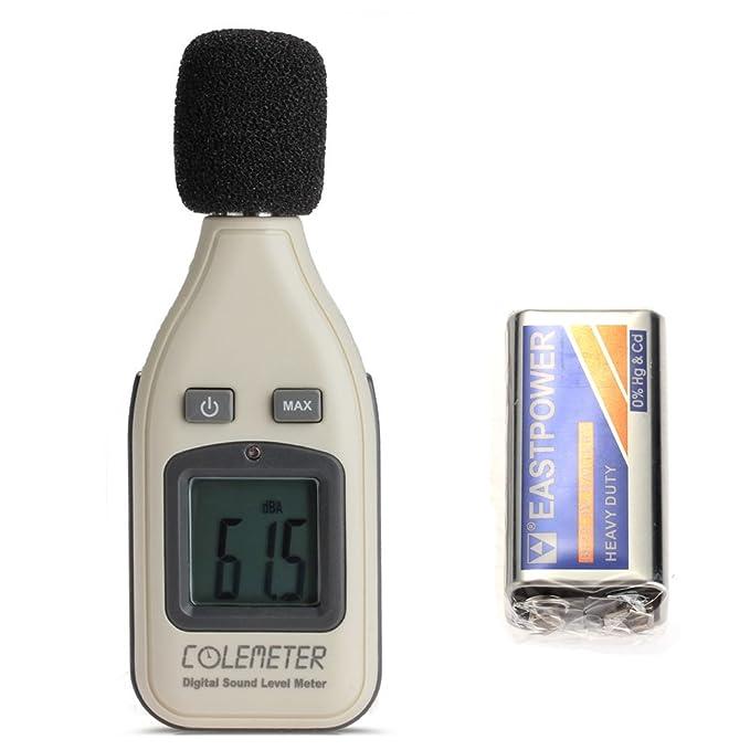 Decibelímetro Sonómetro Acustico Medidor de Ruido 30dB-130dB
