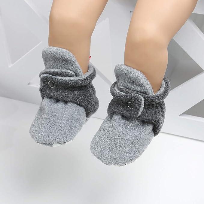 LILICAT® Zapatos de Felpa para bebés y niños cálidos ...