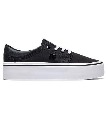 1be3269a30712 DC Shoes Trase Platform TX Se - Baskets - Femme - EU 36 - Noir