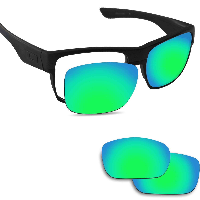 Fiskr Anti-saltwater Replacement Lenses for Oakley Twoface Sunglasses - Various Colors by Fiskr