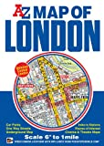 Map of London A-Z 1:10.56K