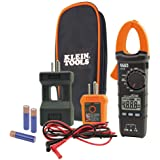 Klein Tools CL110KIT Electrical Tester/Maintenance Kit w/Clamp Meter, Continuity Tester, GFCI Tester, Line Splitter…