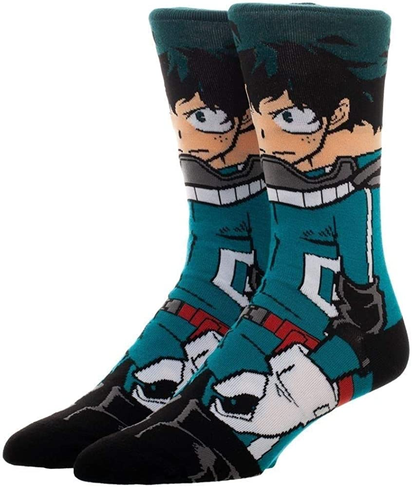 Izuku Midoriya Deku 360 Crew Socks My Hero Academia