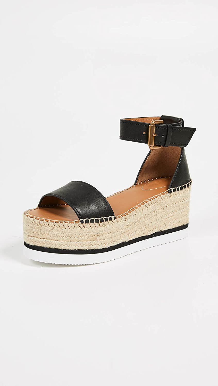 46f4a7dcf4b Amazon.com: See by Chloe Women's Glyn Mid Wedge Espadrilles: Shoes