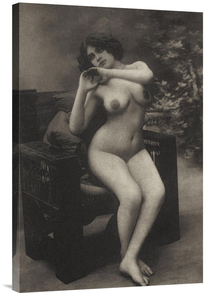 Global Gallery GCS-379363-30-142 ''Vintage Nudes Health And Youth'' Gallery Wrap Giclee on Canvas Wall Art Print