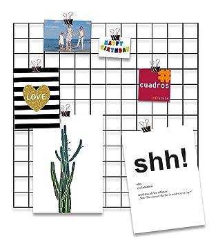 Design-Wandgitter \'Black Beauty\' zum Aufhängen | Moodboard ...