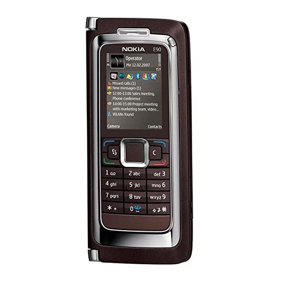 288807b6d82bfd Amazon.com: Nokia E90 Communicator Unlocked Phone with 3.2 MP Camera ...