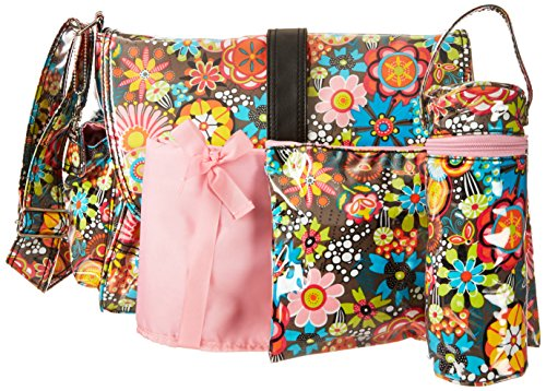 Kalencom Laminated Buckle Bag, Retro Floral by Kalencom (Image #5)