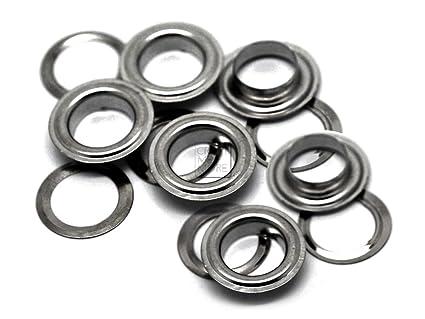 amazon com craftmemore 5 8 16mm hole 50 sets grommets eyelets