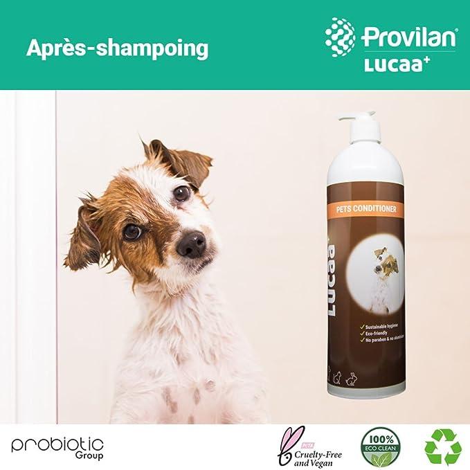 LUCAA+ Acondicionador para Mascotas/ Perros y Gatos 1l | Producto Sostenible con Probióticos | Bio, Vegano & Natural: Amazon.es: Productos para mascotas