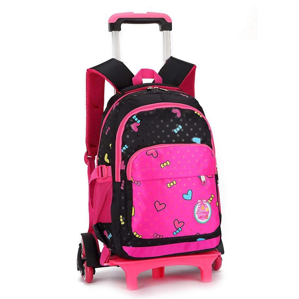 Amazon.com  Geromg Children Trolley Backpack School Bags Grils Wheeled Bag  Student Detachable Rolling Backpacks Trolley schoolbags Travel Mochila d29806a068182
