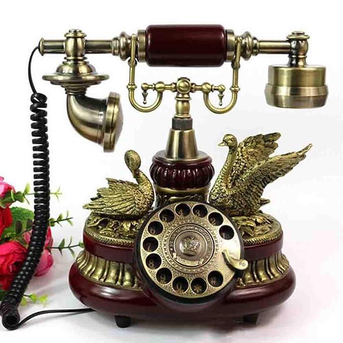 MICHEN Tocadiscos Europeo Antiguo Teléfono Retro Moda ...