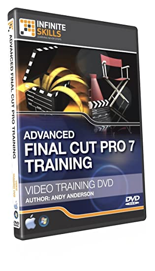 Amazon com: Advanced Final Cut Pro Training DVD - Tutorial Video