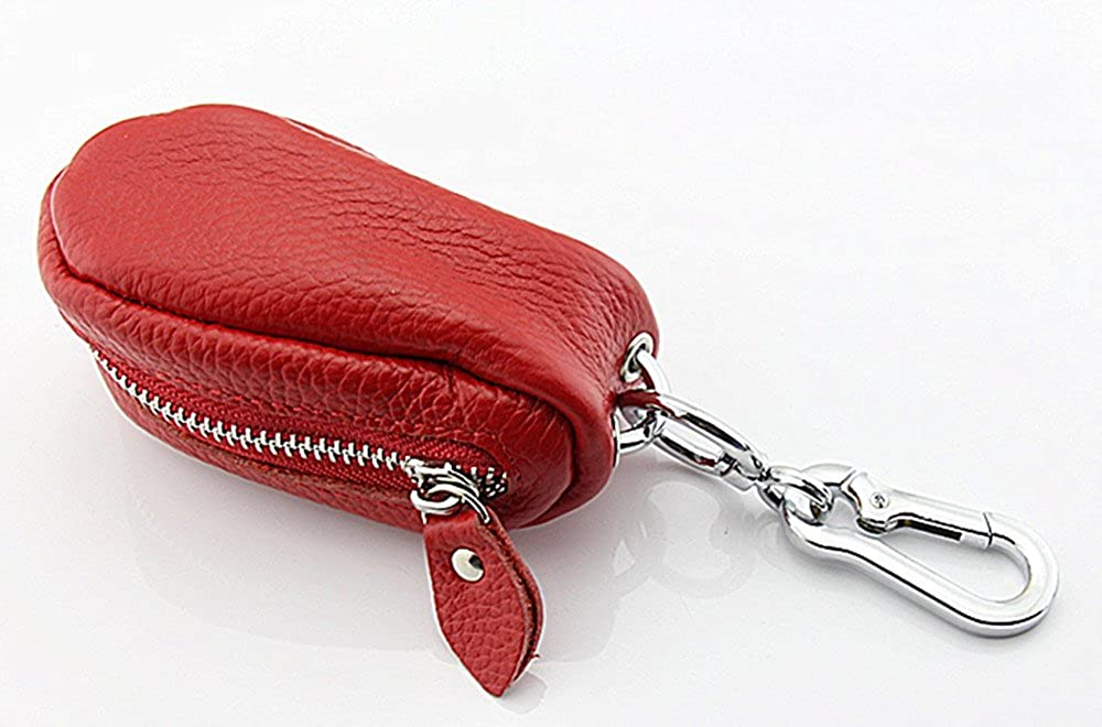 Genda 2Archer Genuine Leather Car Key Chains Wallet Pouch Key Case Holder for Men and Women PL-XSZ-YS9058BK