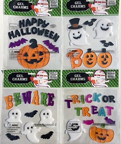 , 4 Sheets! (Halloween Gel)