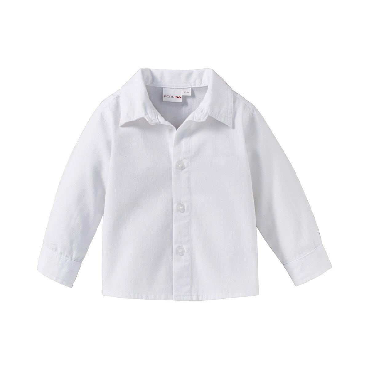 7b1e50e7dbb31 Bornino Festliche Mode-Set (4-TLG.) für Jungen - Anzug mit Weste, Hemd,  elastischer Hose & weitenverstellbarer Krawatte - grau/weiß/anthrazit:  Bornino: ...