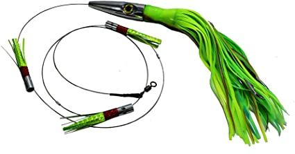 "High Speed Daisy Chain Savage 15/"" Plomero Wahoo Lure by MagBay Lures"