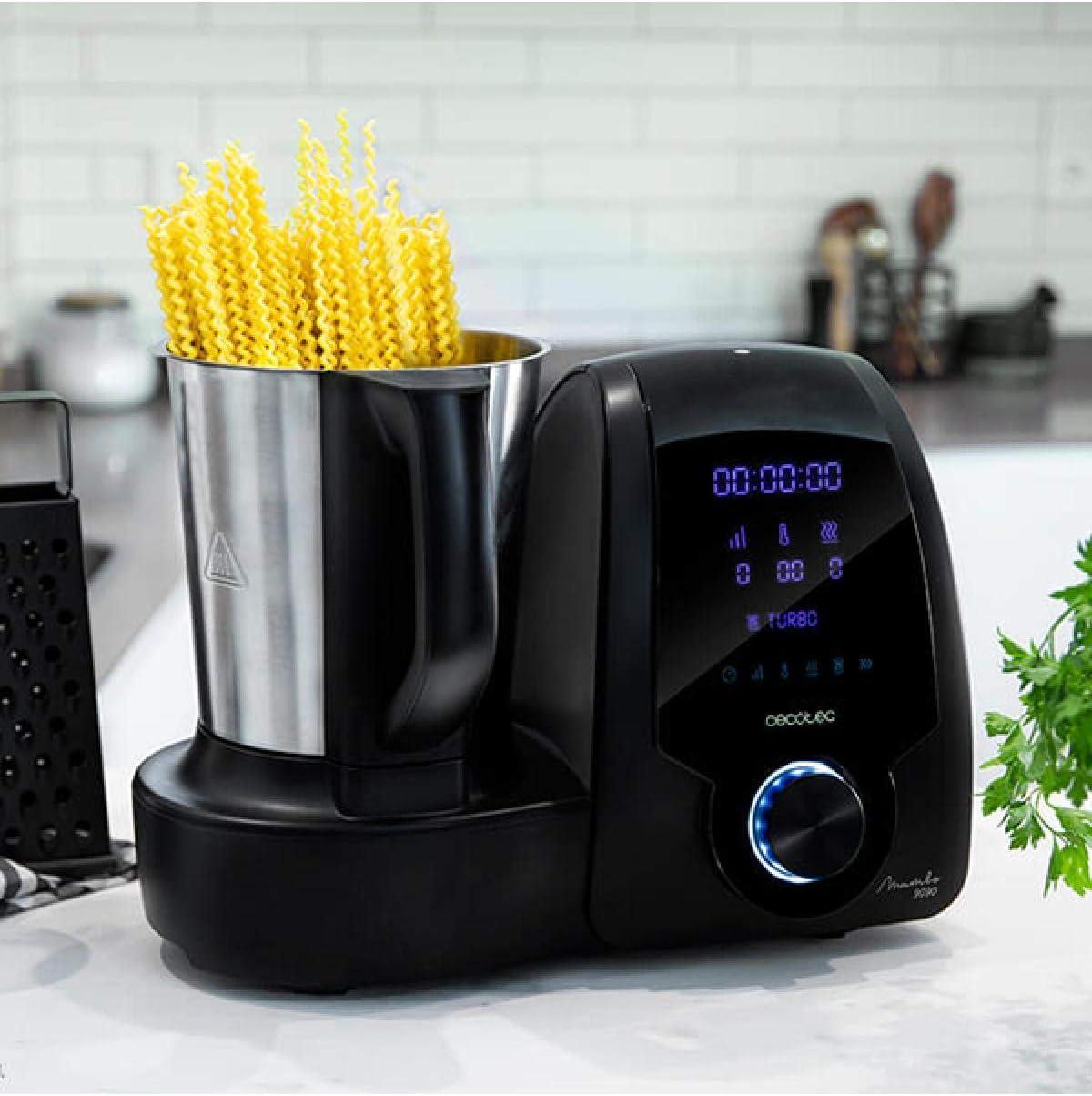 Modo de uso Robot de Cocina Cecotec Mambo 9090
