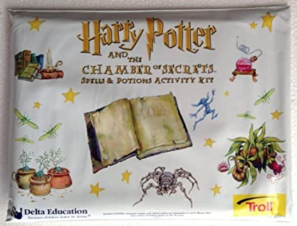 Amazon Com Harry Potter The Chamber Of Secrets Spells Potions