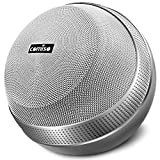 COMISO HomeAudio 30W Bluetooth Speakers, Loud Dual Driver Hi-Fi Wireless Bluetooth Speaker with HD Audio and Enhanced Bass, Wireless Stereo, Built in Mic, Aux Input, Long-Lasting Battery Life (Grey)