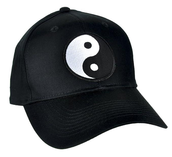Amazon.com  Yin Yang Symbol Hat Baseball Cap Alternative Clothing ... 28b76cf5cb3
