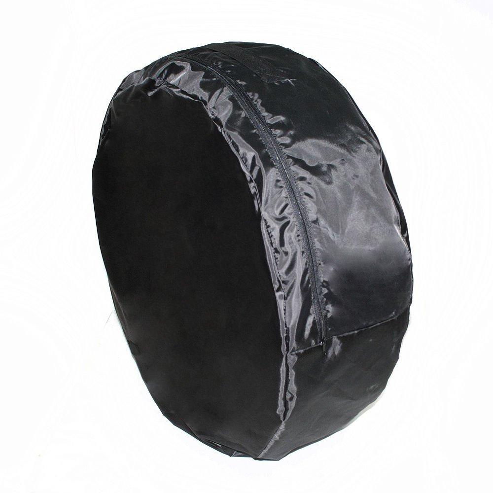 car joy 1x XL 13' to 16' Black Spare Wheel Cover Storage Tyre Bag Ionko inc.4