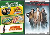 Smoke Em' Pineapple Express comedy movie Midnight Munchies Pack Cheech and Chong's Next Movie / Born in East L.A. / Cheech & Chong Get Out of My Room 4 films
