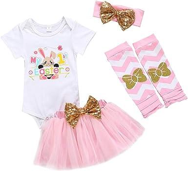 le bunny body lapin de pâques combinaison de floral les bébés filles romper