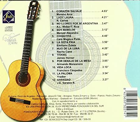 La Guitarra Española 2: Various Artists: Amazon.es: Música