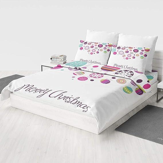 Zilcine 4 Pc Duvet Cover Set - Christmas,Pattern Ultra Soft