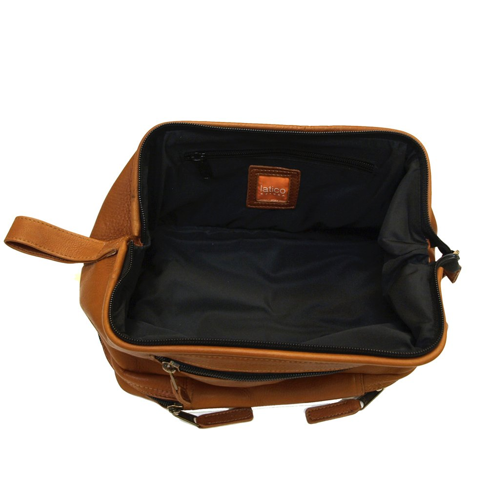 Uptown Downtown and Midtown Travel Kits by Latico Leathers Genuine Luxury Leather for Portable Travel
