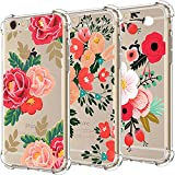 [UPGRADED] iPhone 6 6S Case with flowers, [3-Pack] - Best Reviews Guide