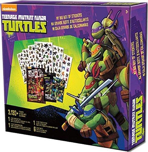 Teenage Mutant Ninja Turtles, My Big Box of Stickers
