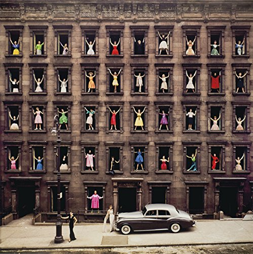 Girls in the Windows, New York City, 1960 Photo Print 12x12'' by Blujway