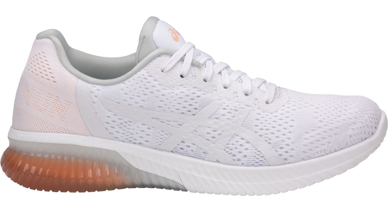 ASICS T888N Women's Gel-Kenun MX Running Shoe, White/White/Apricot Ice - 9.5 by ASICS (Image #1)